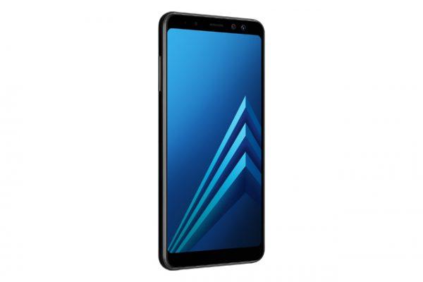 Galaxy A8 2018 Black -05