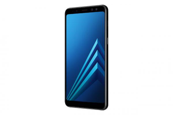 Galaxy A8 2018 Black -06