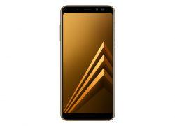 گوشی تلفن همراه Samsung Galaxy A8 2018 Gold