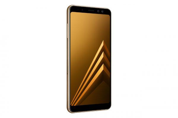 Galaxy A8 2018 Gold -05