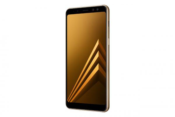 Galaxy A8 2018 Gold -06
