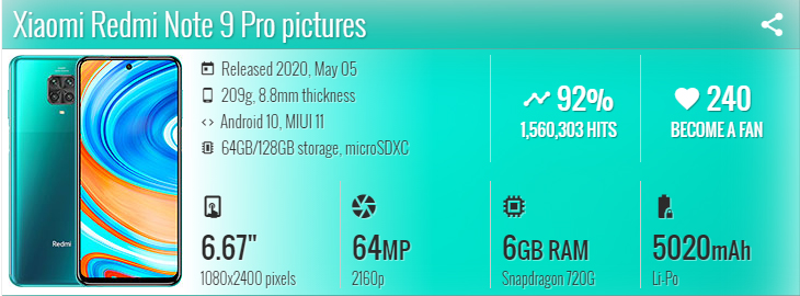 Xiaomi redmi note 9 pro گوشی شیائومی نوت 9 پرو