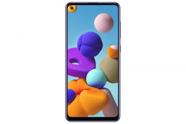 گوشی موبایل سامسونگ A21s آبی